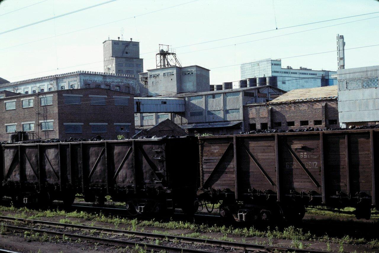 Омск. Товарная станция