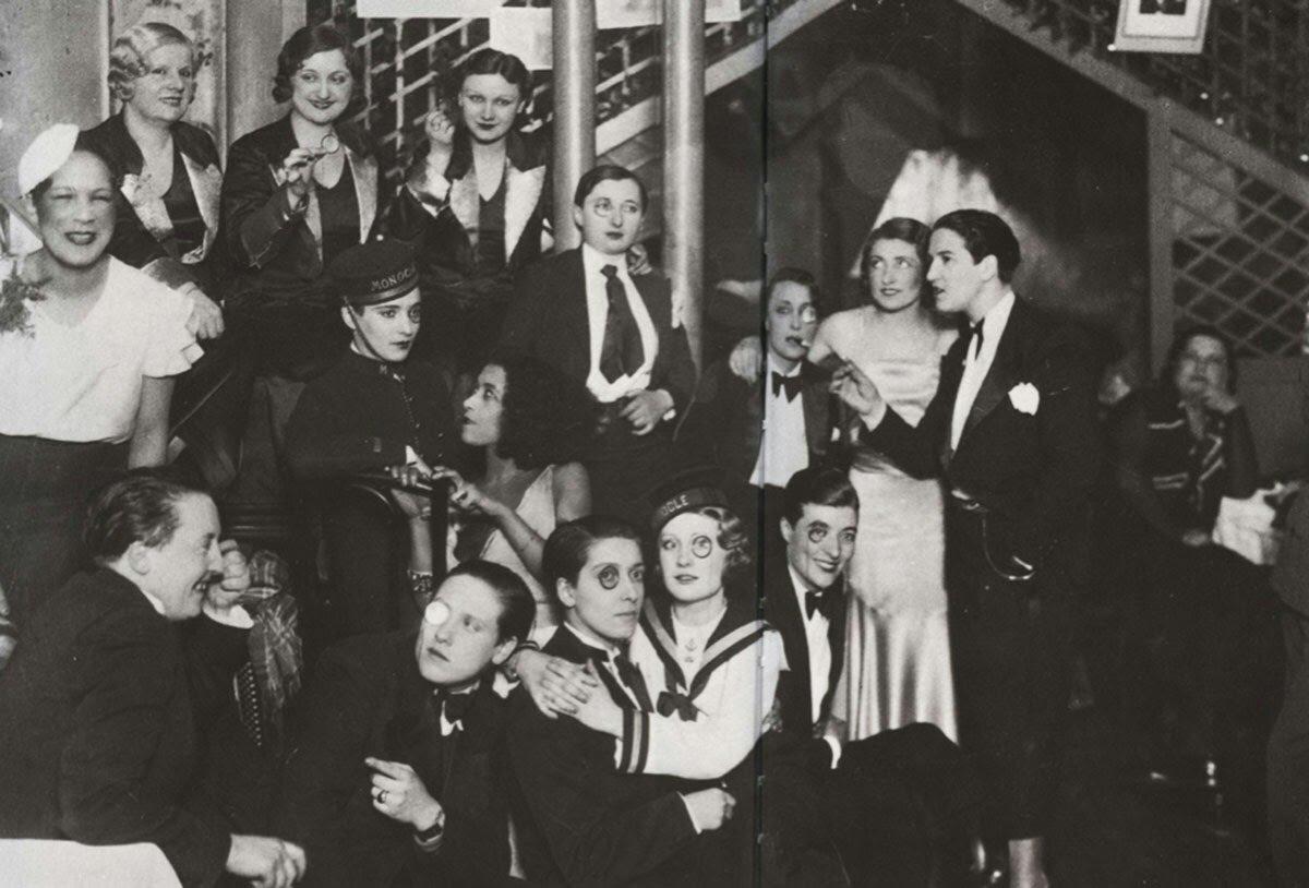 1932. «Монокль», клуб для лесбиянок. Гости и служащие