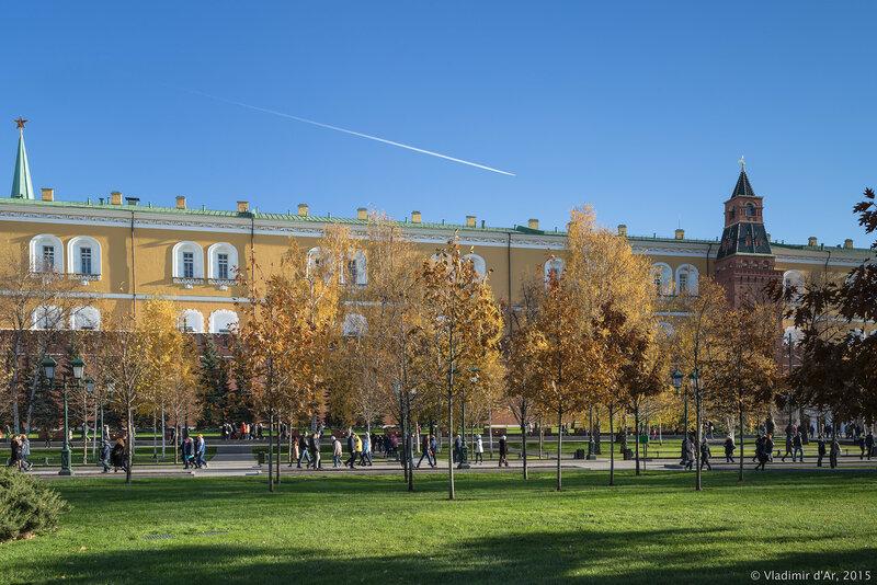 Александровский сад. Ноябрь 2015.