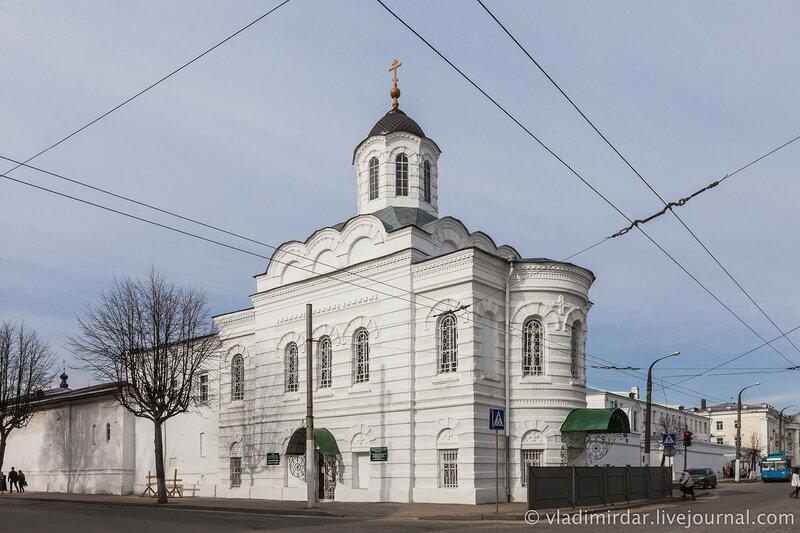 Смоленская церковь. Богоявленско-Анастасиин женский монастырь. Кострома.
