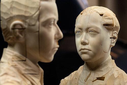 Скульптура реалистичной психоделики. Gehard Demetz