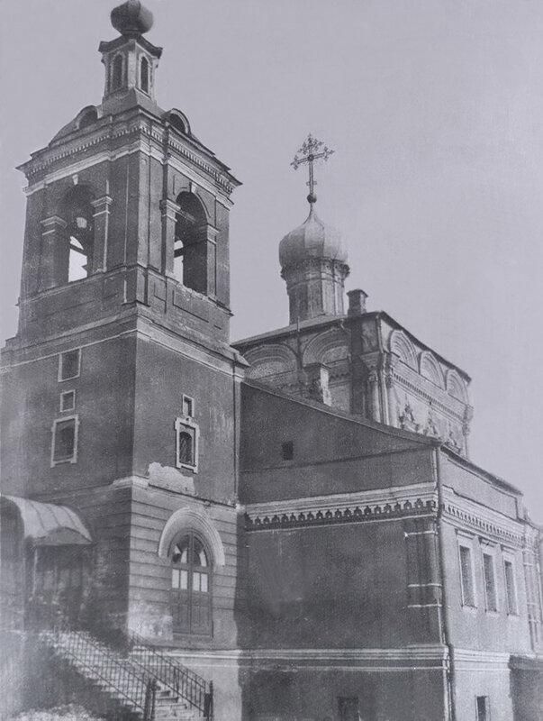 Никольская церковь, вид с юго запада