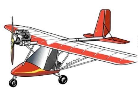 самолет из cтроительного