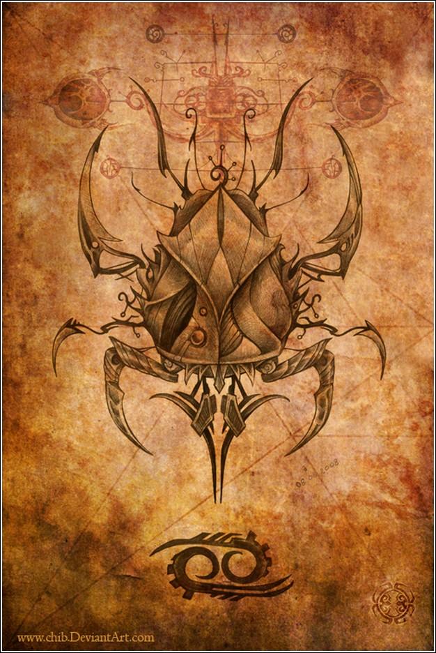 Пожалуй, одна из самых необычных серий картинок знаков зодиака