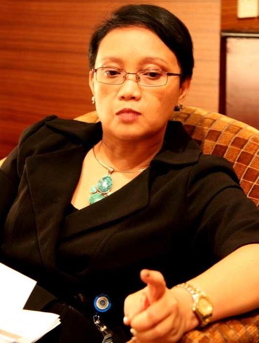 генеральный директор по делам Америки и Европы министерства иностранных дел Республики Индонезия Ретно Марсуди