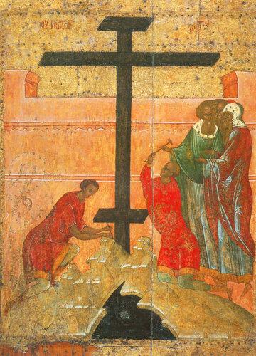 Воздвижение Креста Господня Не позднее 16 века.