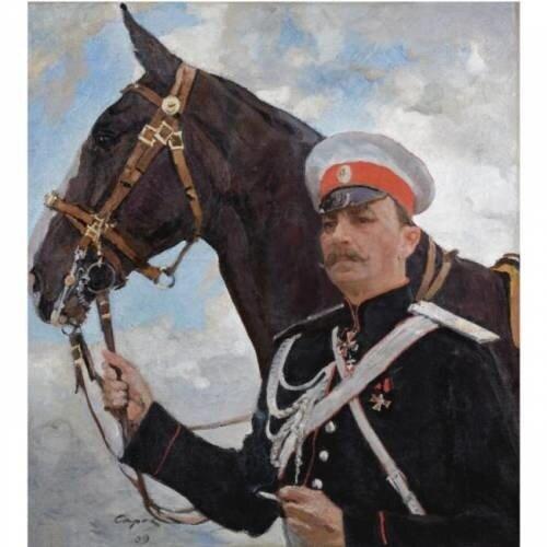 Князь Феликс Юсупов-старший, граф Сумароков-Эльстон. Худ. В. Серов