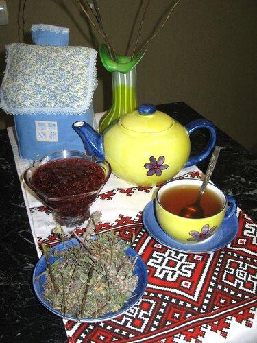 Желудочный травяной чай