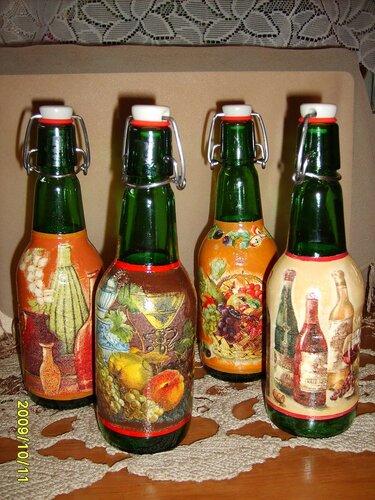 Бутылочки для уксуса
