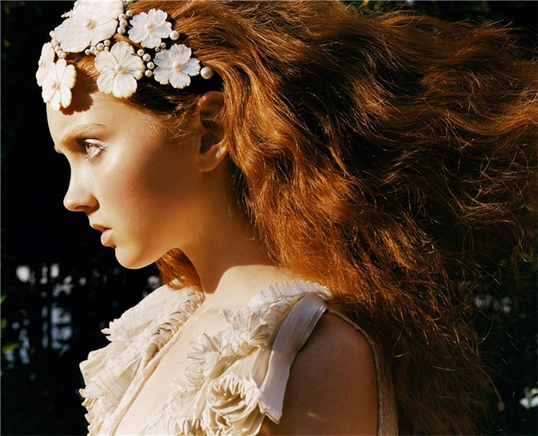 Morning Beauty Lily Cole by Carter Smith / Утренняя звезда Лили Коул