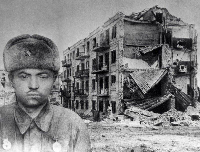 Сталинградская битва, сталинградская наука, битва за Сталинград, дом Павлова, Яков Павлов