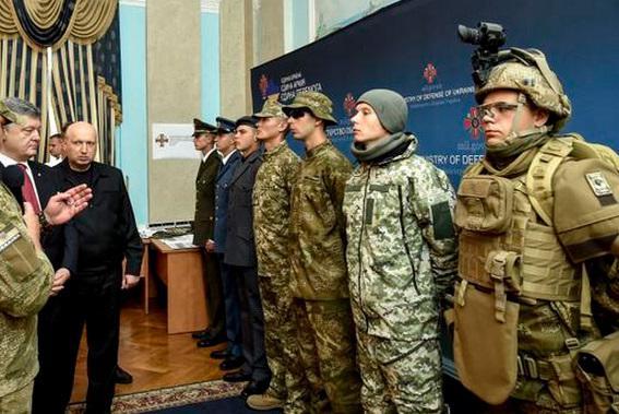 ВМинистерстве обороны Украинского государства представили новую форму для военных