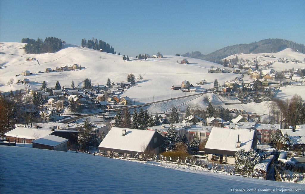 Швейцария. Времена года