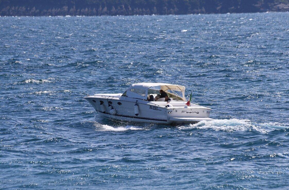 Off the coast of Ischia