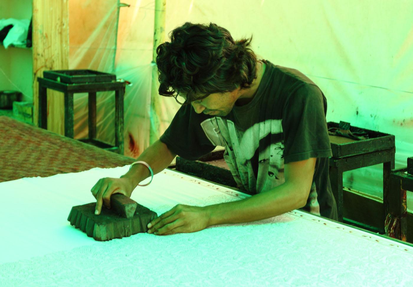 Фотография 20. Ремесленник в Джайпуре. Отчеты о путешествиях по Индии
