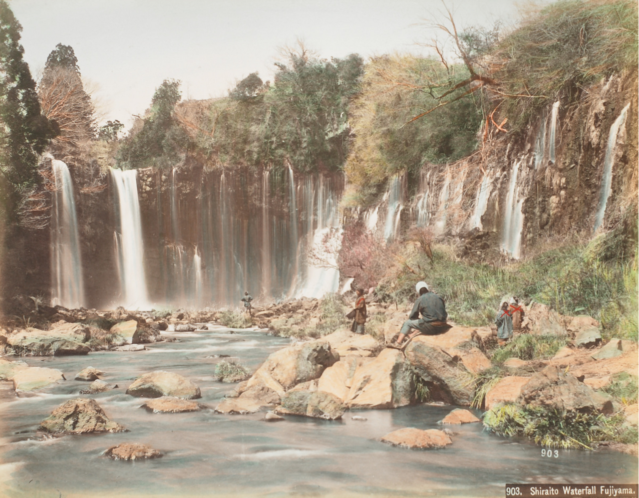 Фудзияма. Водопад Шираито