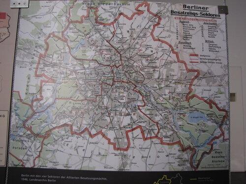 Схема деления Берлина на