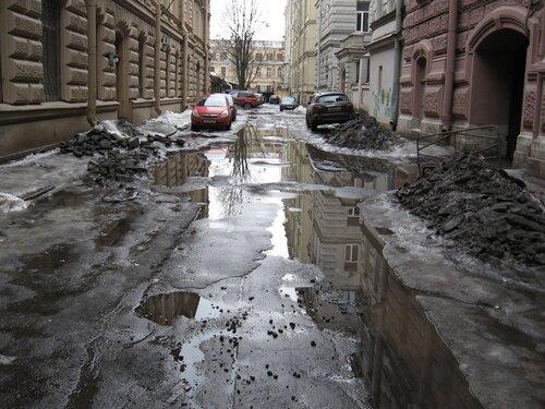Дороги в Санкт-Петебурге