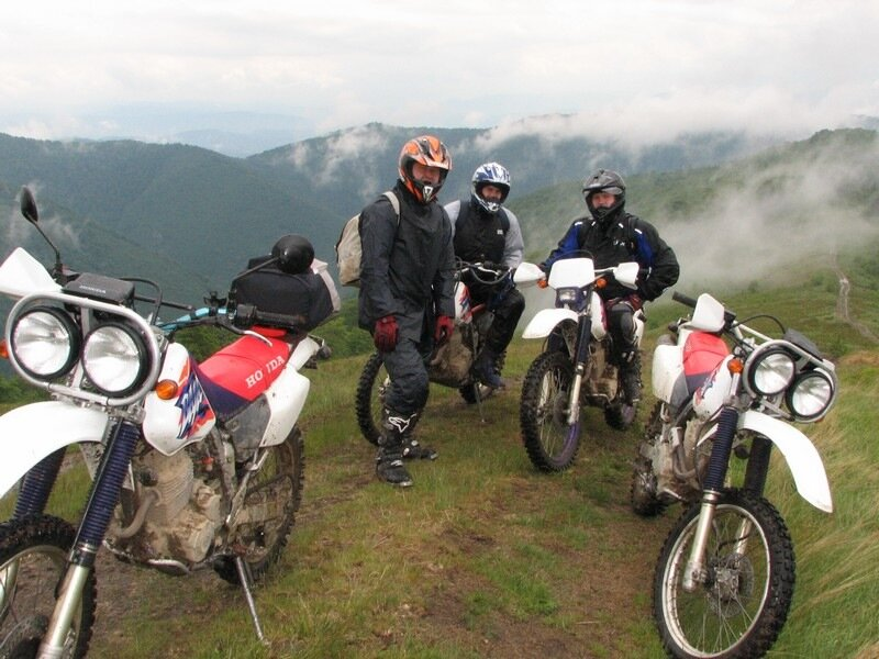 ������ ���� biketours.ru honda xr250