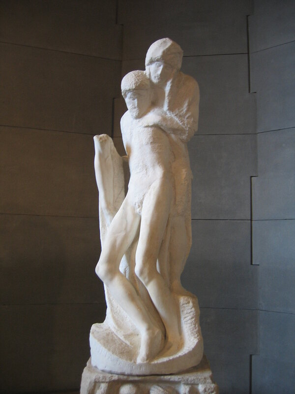 Микеланджело. Пьета Ронданини