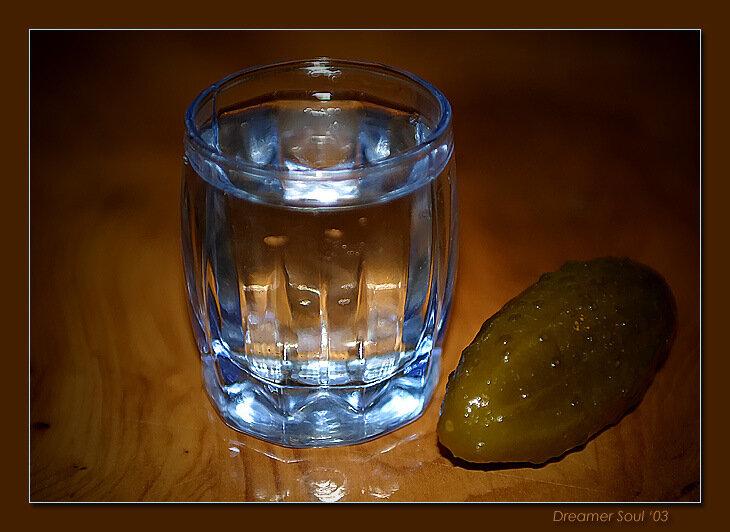 Открытки рюмки с водкой