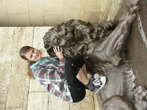 царь зверей и светская львица ;)