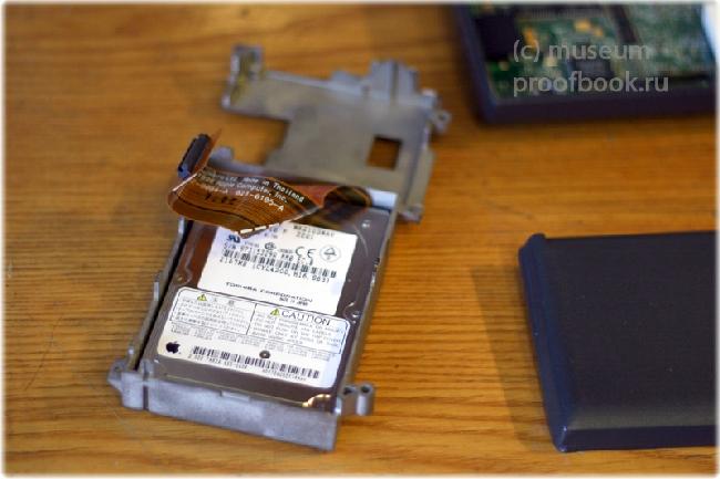Ретро: Apple Powerbook 3400c 97года