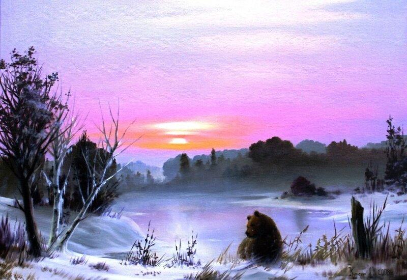 Картины художника Алексея Капустяна (34)