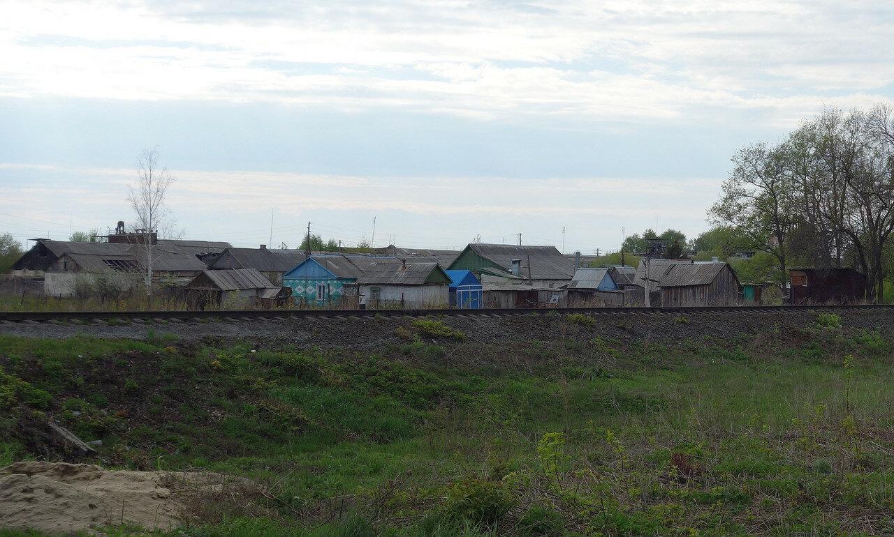 деревня при станции
