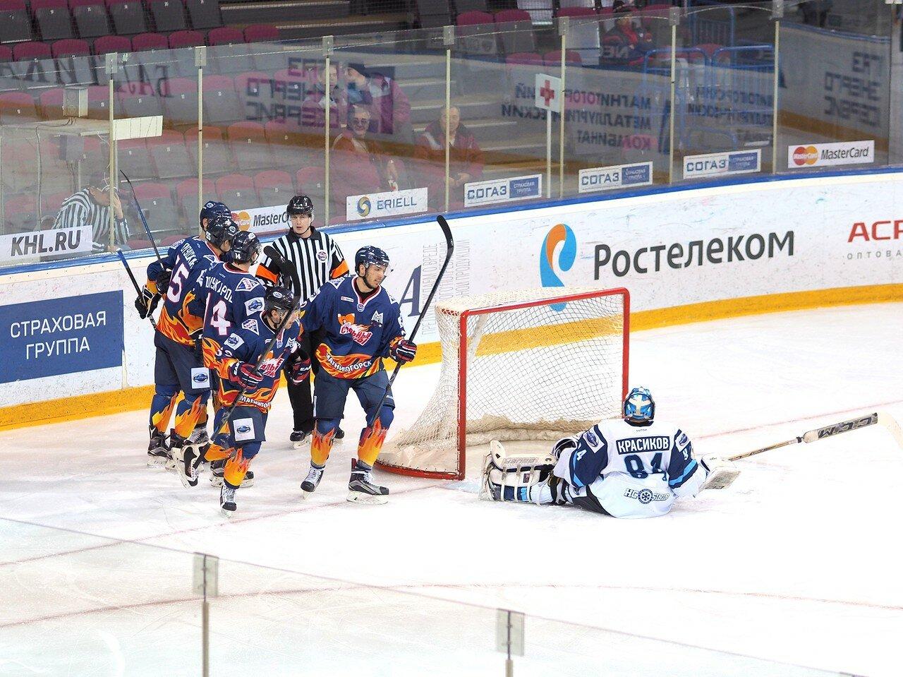 1Плей-офф МХЛ 2016 1/4 Стальные Лисы - Сибирские Снайперы 21.03.2016