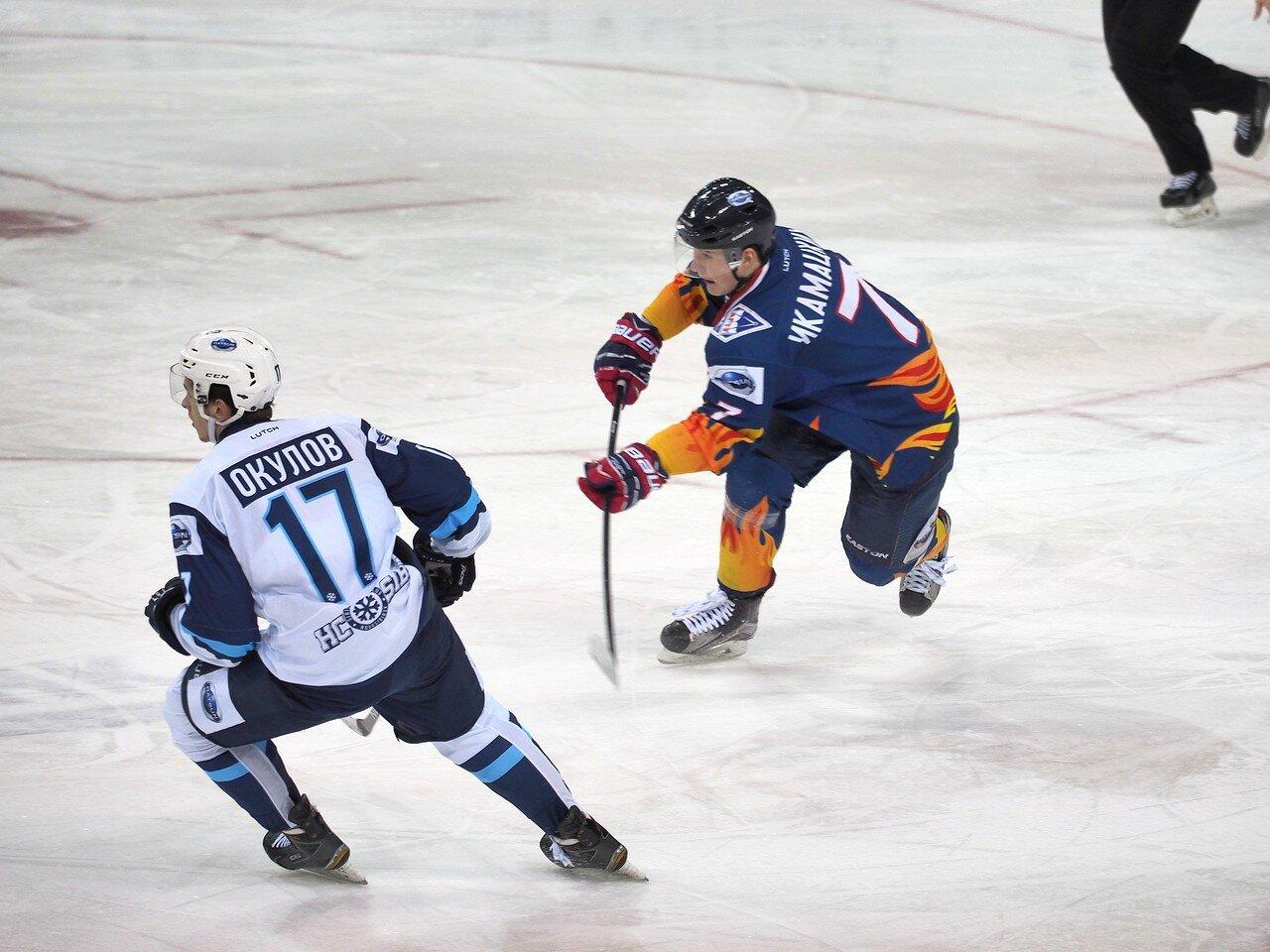 12Плей-офф МХЛ 2016 1/4 Стальные Лисы - Сибирские Снайперы 21.03.2016