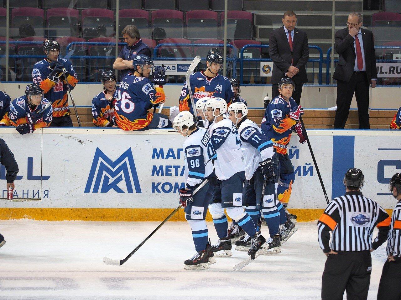 69Плей-офф МХЛ 2016 1/4 Стальные Лисы - Сибирские Снайперы 21.03.2016