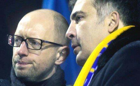 Саакашвили поссорился с Аваковым и Яценюком из-за видео