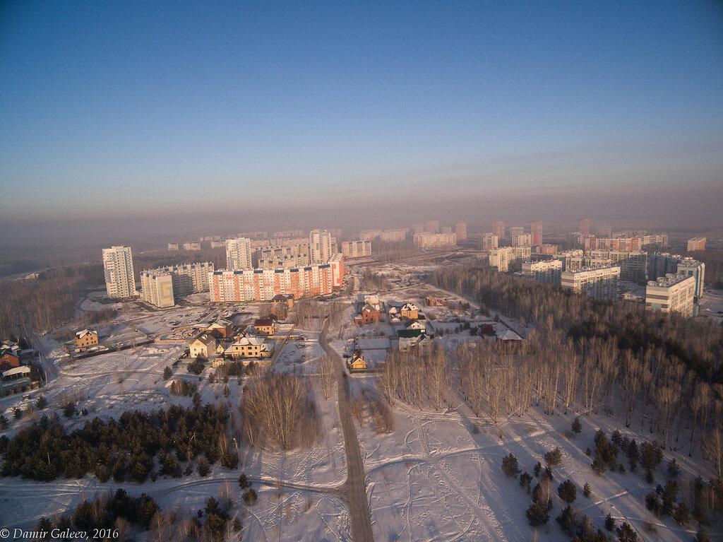 Утренний смог над Челябинском
