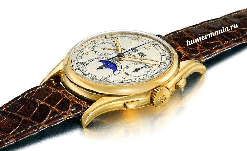 Самые дорогие часы в мире - Patek Philippe Reference 1527