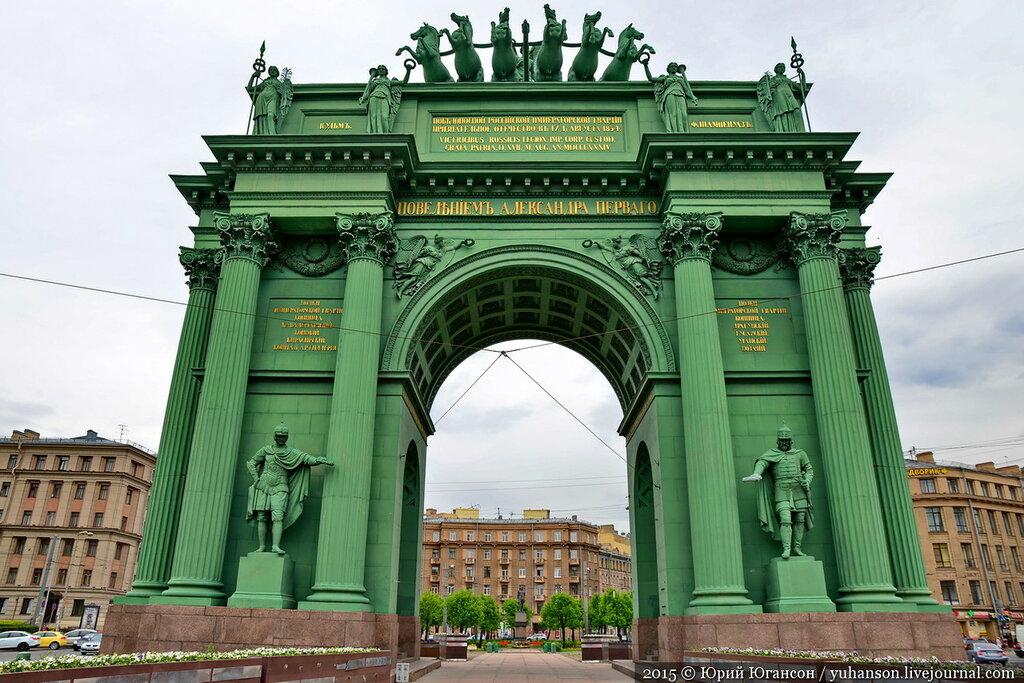 Мемориальный комплекс с арками и колонной Выставочная Эконом памятник Купола Каменногорск