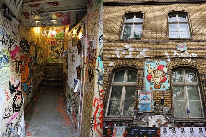 Красивый стрит арт в Берлине, Германия (фотографии граффити)