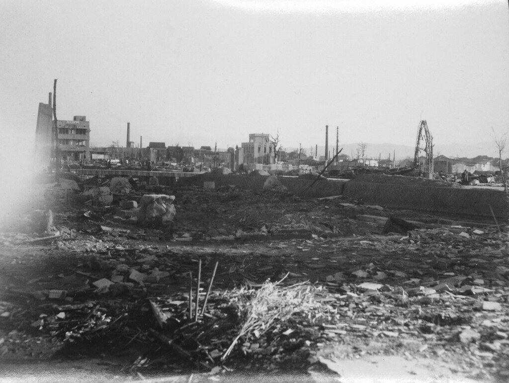 Bomb Damage, Fukuoka, Japan Dec 11, 1945