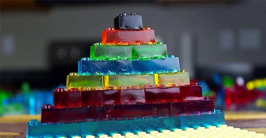 Съедобное LEGO для весёлой и вкусной игры
