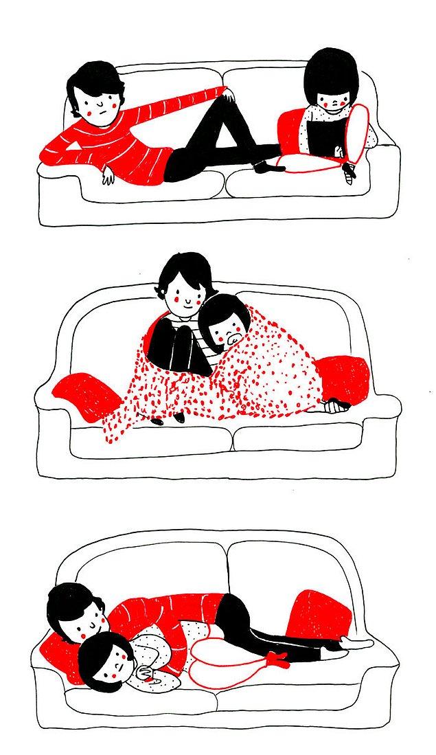 Любовь - это быть рядом каждую минуту