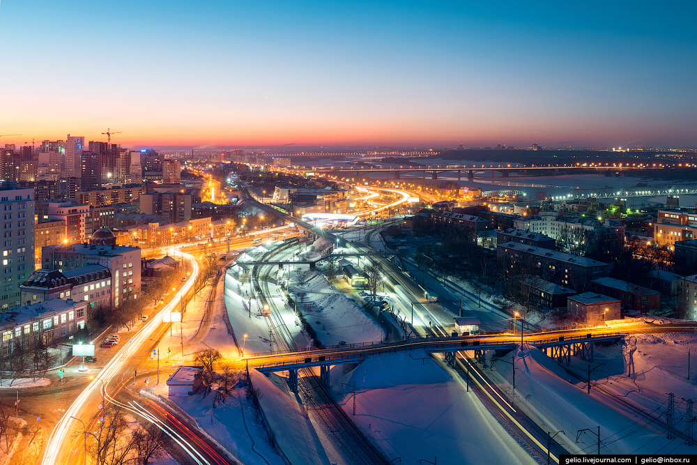 Фото Новосибирска. Зима 2016