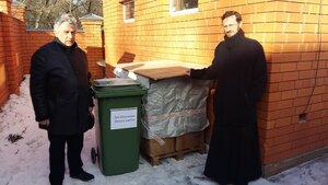21 марта приход Троицкого храма в Сходне провел экологическую акцию по сбору макулатуры, приуроченную к международному Дню лесов