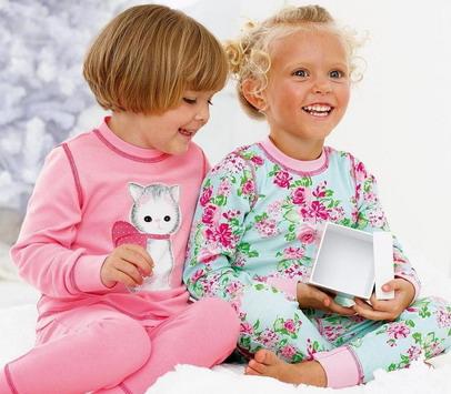 Маленькие девочки в пижамах