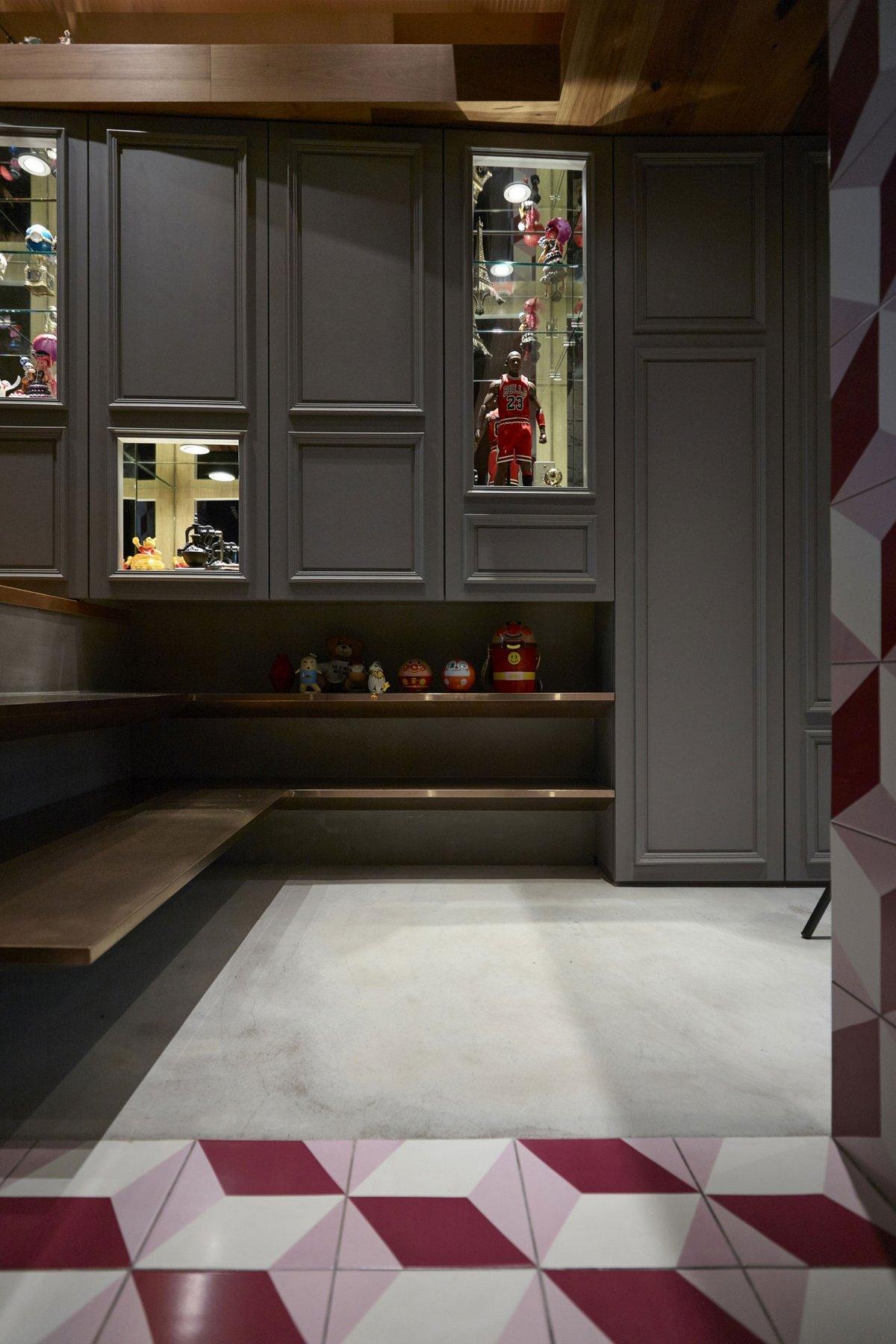 KC Design Studio, мезонин квартира, необычный интерьер квартиры, необычные интерьеры квартир фото, многоуровневая квартира