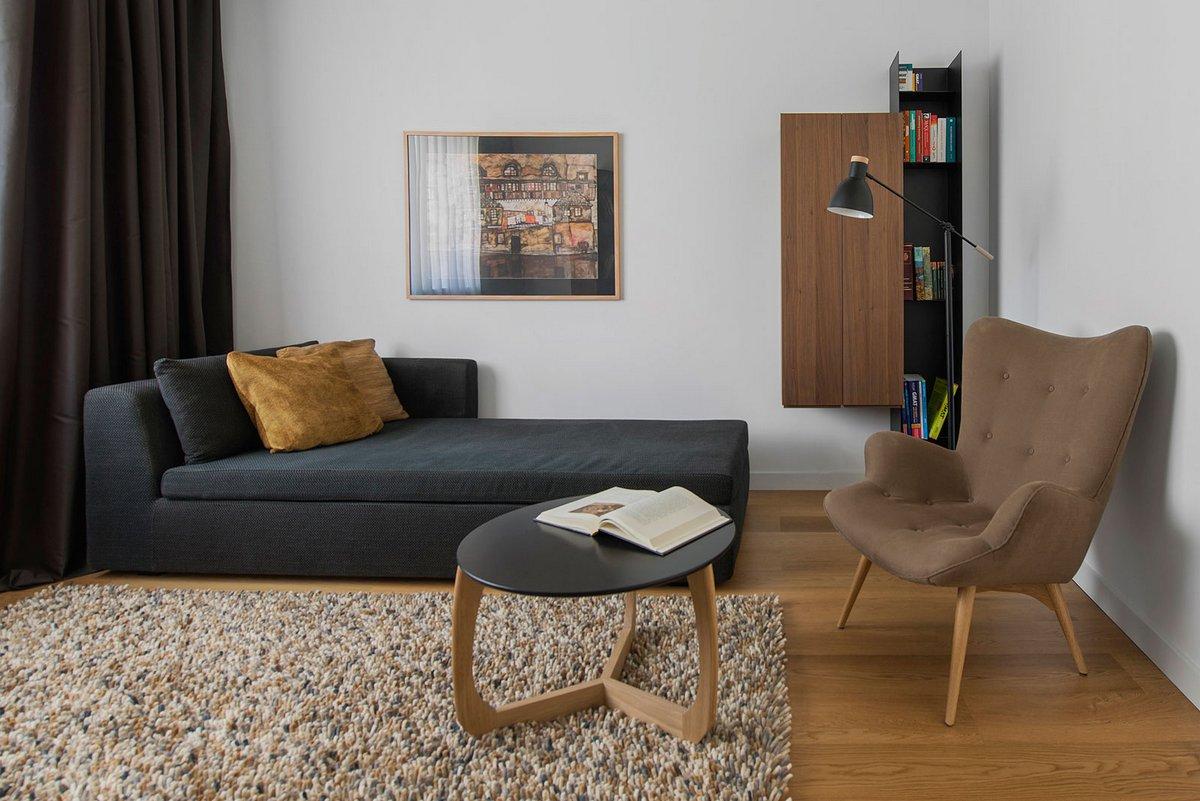Tikhonov Design, Москва, Россия, дизайн трехкомнатной квартиры фото, интерьер трехкомнатной квартиры фото, дизайн интерьера трешки фото
