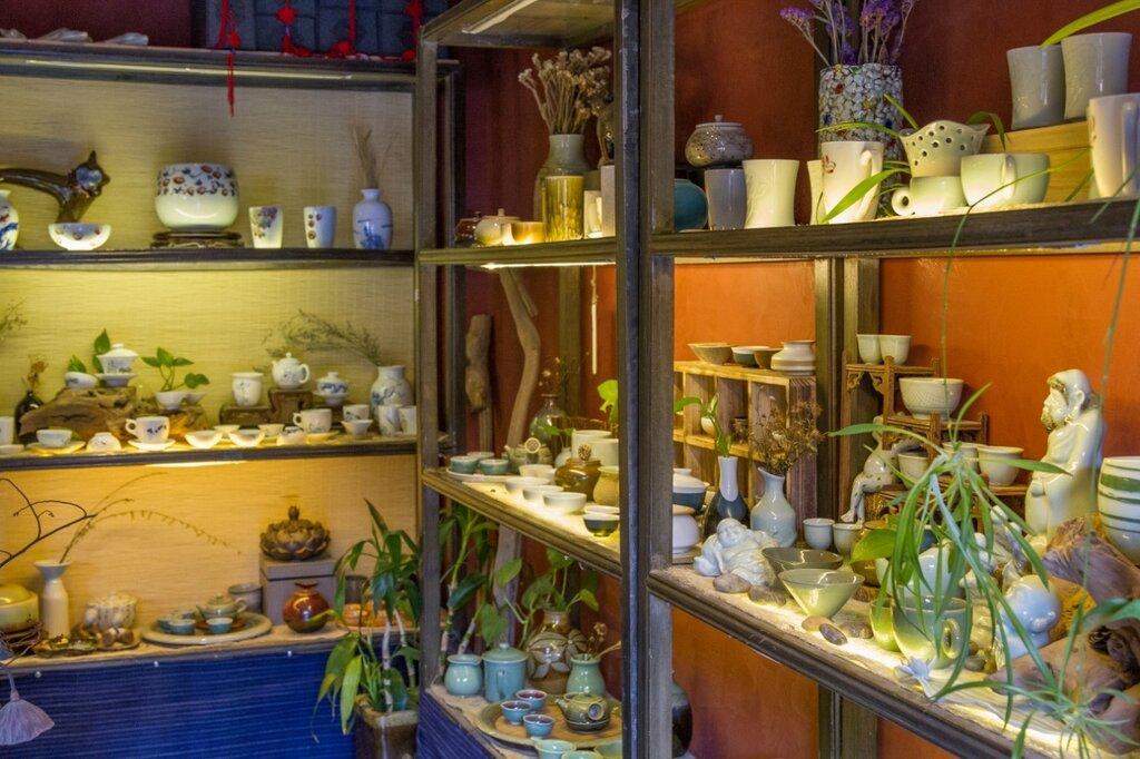 Чайный магазин на улице Яньдай, Пекин