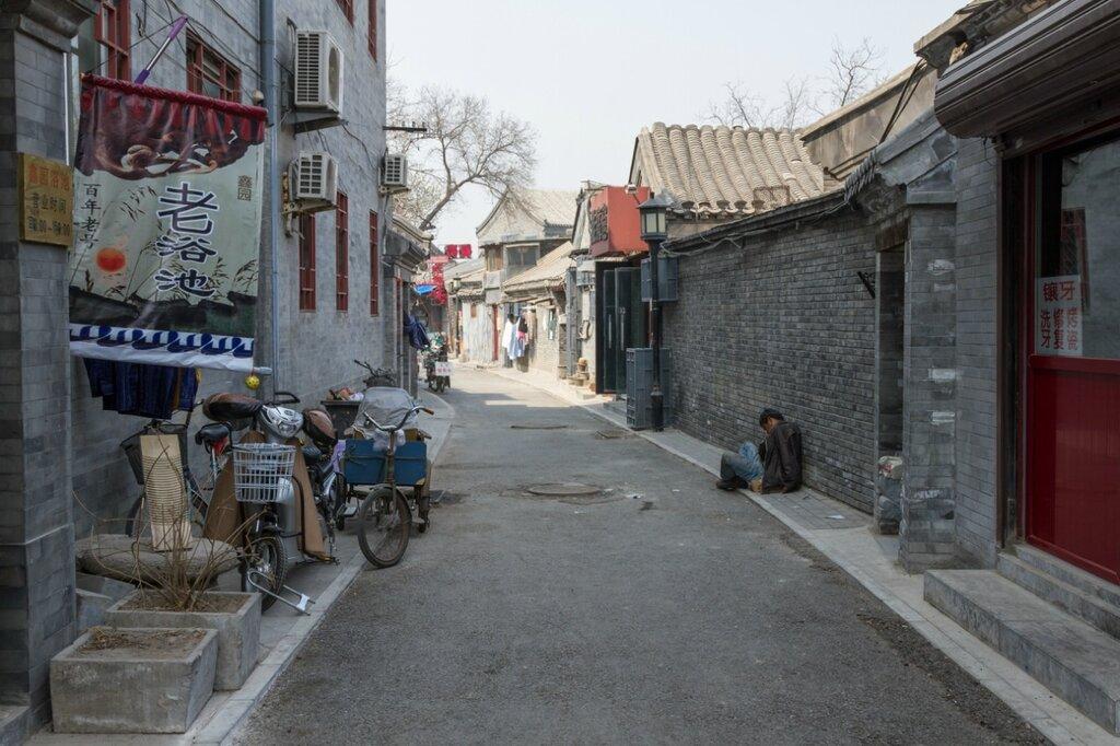 Пьяница, хутуны, Пекин