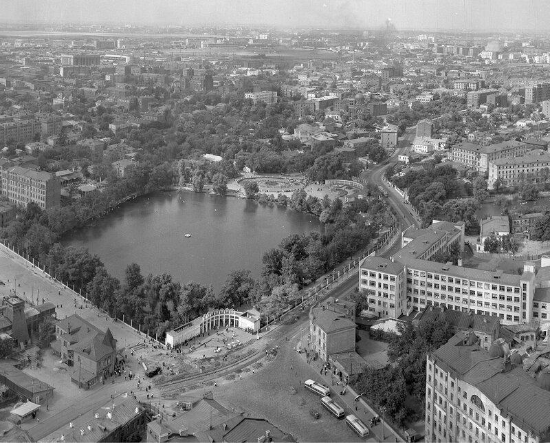 32064 Панорама с высотки на Баррикадной - 6 1955 из архива А.Задикяна.jpg