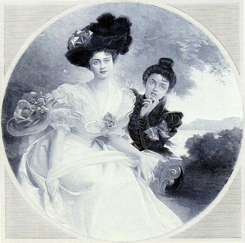 Dubufe Soeurs. Сестры Dubufe? 1898