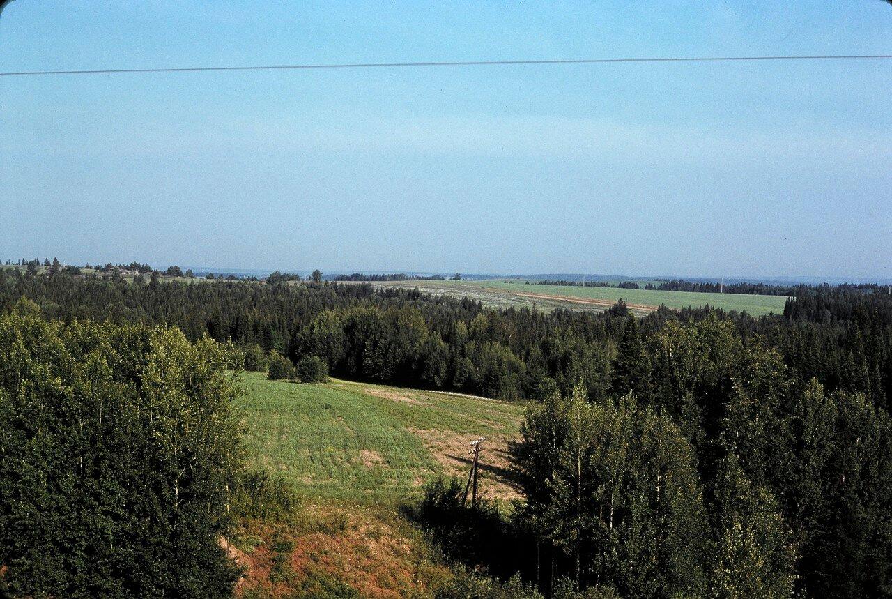 Прикамье к западу от Перми